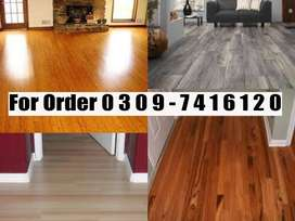 Vinyl  wooden floor for home and offices wood floor pvc floor 3d floor