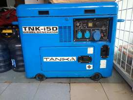 Genset tanika 5000 watt
