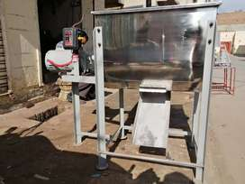 STAINLESS STEEL RIBBON MIXER FOR FOOD, ANIMAL FEED AND DETERGENT