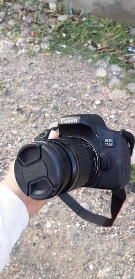 Kamera dslr 750d