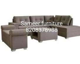 L shape sofa set curnar set 821