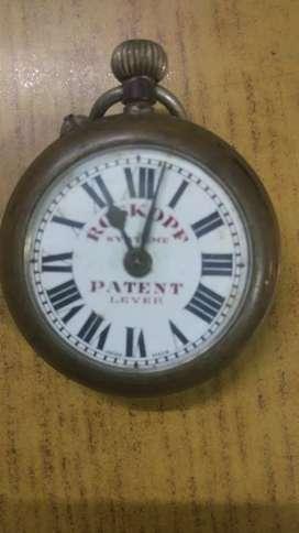 Antique Rospkopf Systeme Swiss Made Pocket Watch