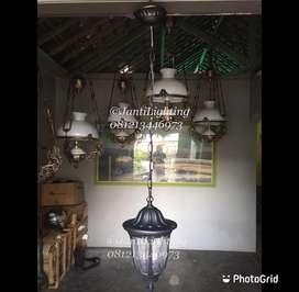 Lampu gantung teras taman ruang tamu klasik minimalis