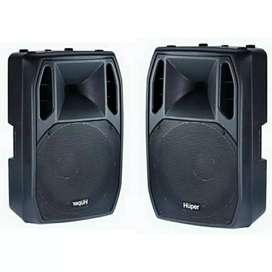Bisa Kredit Speaker Aktif Huper AK15 Proses Cepat Singkat Dan Mudah