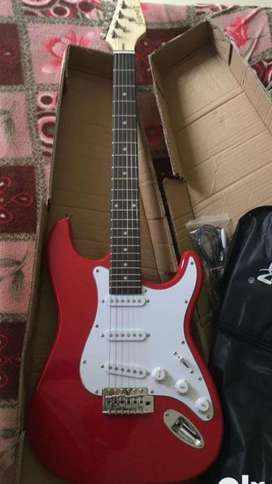 New electric guitar on 80 % discount