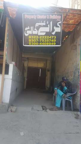 Shop for rent areas johr tawn,tawnshp,fsltawn,mdl twn,gulbarg