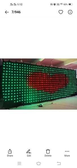 Led Pixel Curtain