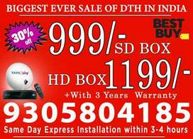 Sale,TATA SKY DTH  All India available.
