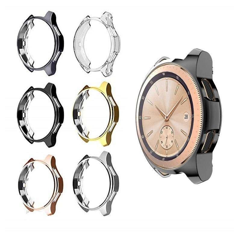 Bumper Case Soft Samsung Galaxy Watch 42mm Transparant 0