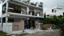 Well built House wt tarris Garden on Awas Vikas plot