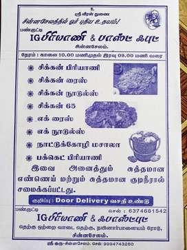Briyani master and Fast food master