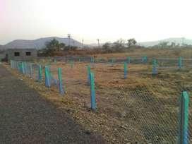6lakh per guntha plot for sale nrby - marunji