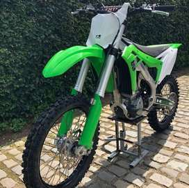 No cod Kawasaki 250/450cc dirt bike green