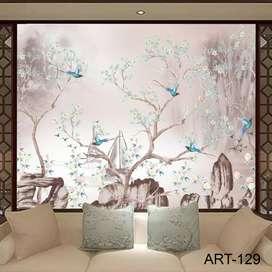 Wallpaper Dinding Custom 3D Seri E