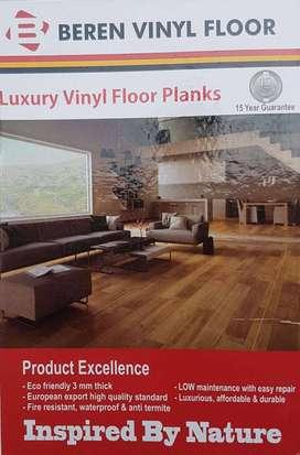 Vinyl Plank Beren Lantai Anti Lembab