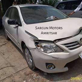 Spare Parts for TOYOTA COROLLA ALTIS PETROL 2011 (ALL INDIA DELIVERY)