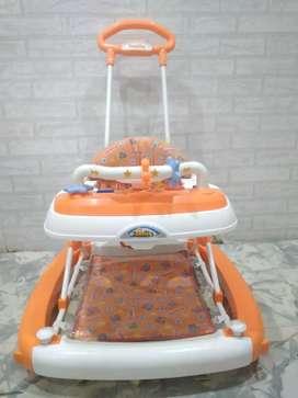Baby Walker orange