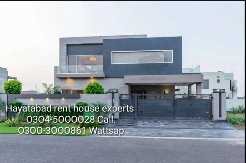 House for rent available in Hayatabad Peshawar. 0