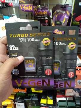 Ready memory camera/SHDC Vgen 32GB Class10 garansi lifetime jantungacc