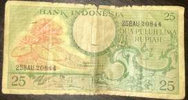 Uang kertas Rp.25