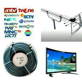 Tempat Pasang Baru Antena Tv Channel Nasional