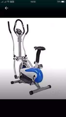Orbitrack  cycle, treadmill