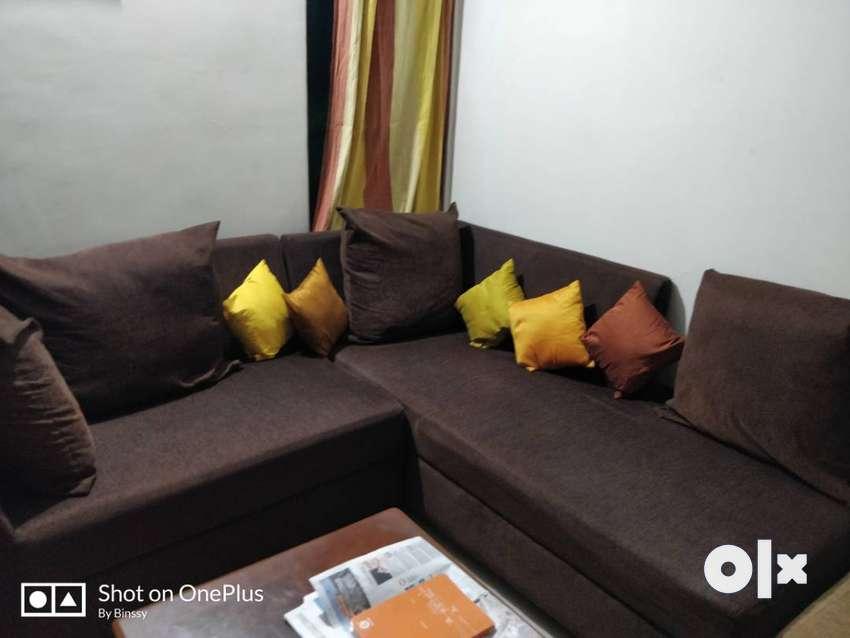 Renatus 2+1 L-Shape Sofa Set in good condition for immediate purchase 0