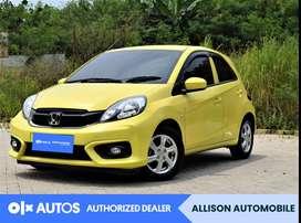 [OLX Autos] Honda Brio Satya 2018 E 1.2 Bensin A/T Kuning #Allison