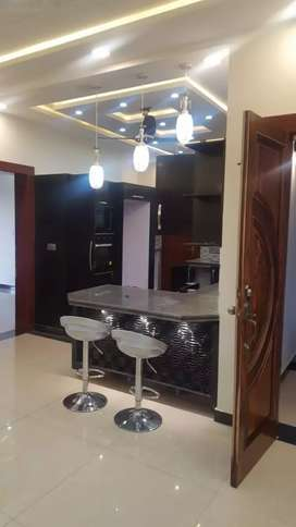10 marla brand new upper portion semi furnished for rent