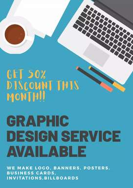 Graphic design service available in budget!!!