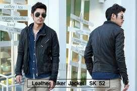 Black Leather Jacket | Jaket Bikers | Jaket Korean | Jaket Keren