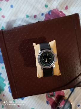 Black strap fastrack watch