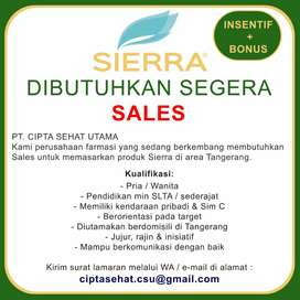Sales Area Tangerang