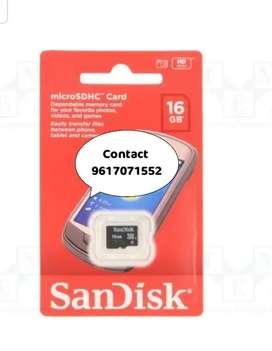 Sandisk class 4  & class 10 Ultra memory card