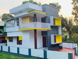 Aluva uc college 3.750cent 1500sqt 3bhk new house 44lakh