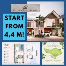 Rumah Murah dan Modern di BALI! Cluster Resvana @Ciputra Beach Resort!
