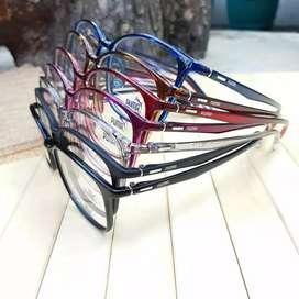 Kacamata PUMA + lensa minus