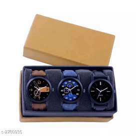 Men's watch Stylish 3pc in just 450 shipping free