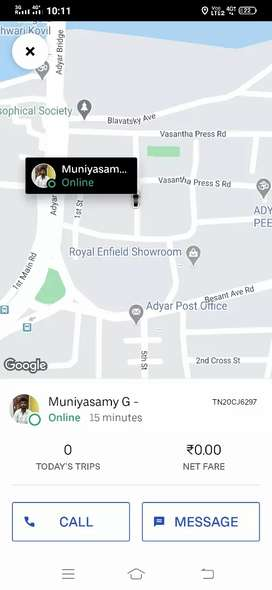 Need driver for ola and uber