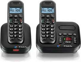 Cordless phones with wirless intercom ficility