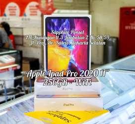 """Cash&Kredit APPLE IPAD PRO 2020 11"""" 256GB WIFI[NEW]-KTP+NPWP bs Kredit"""