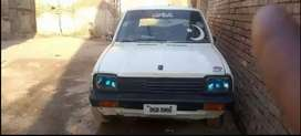 One Fx car Model 1987 color is White with new seats