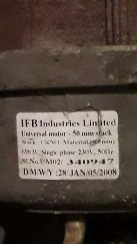 Washing machine IFB