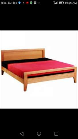 Plywood bed old model