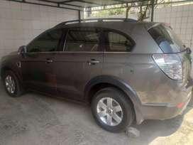 Jual Chevrolet Captiva M/T Tahun 2010 Warna Abu-abu