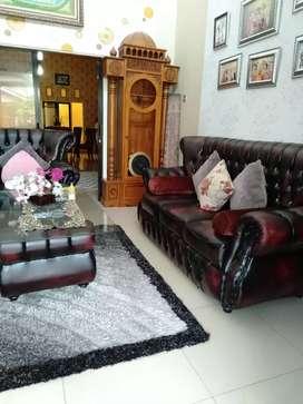 Dijual rumah beserta perabot (siap pakai)