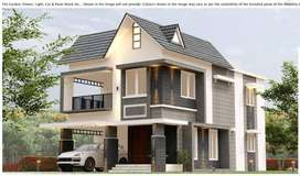 Pay just Rs.3619/- Per Sq.ft - Independent Villa For SALE in Thrissur