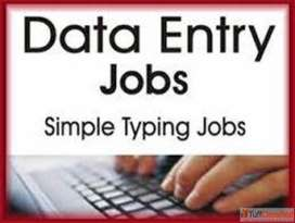 Urgent requirement for Data Entry / Back Office