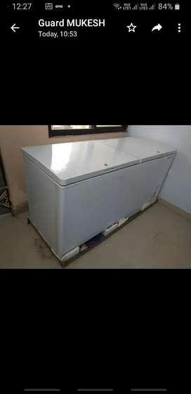 Unused Double Door Deep Freezer