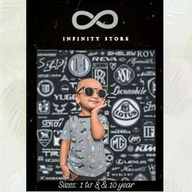 Kids Tees in Export Quality Fabric